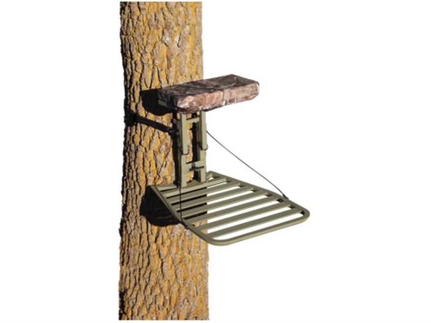 API Outdoors Baby Grand Hang On Treestand Aluminum Realtree AP Camo