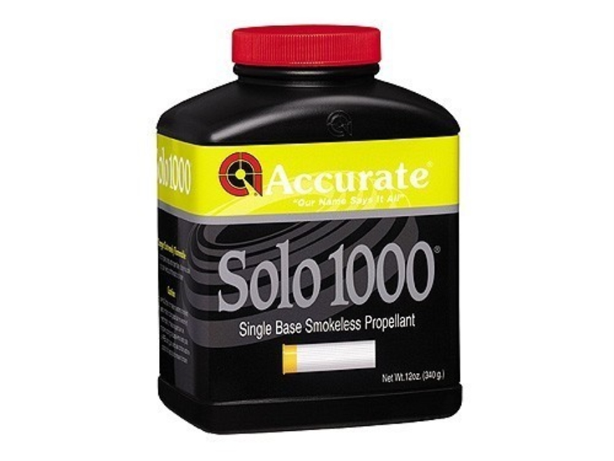Accurate Solo 1000 Smokeless Powder