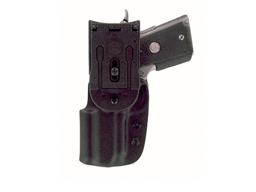 "Blade-Tech DOH Dropped and Offset Belt Holster Springfield XD Tactical 5"" Tek-Lok Kydex Black"
