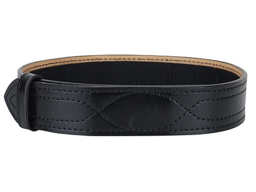 "Gould & Goodrich B56 Duty Belt 2-1/4"" Buckleless Hook-&-Loop Fastener Leather Black 30"""