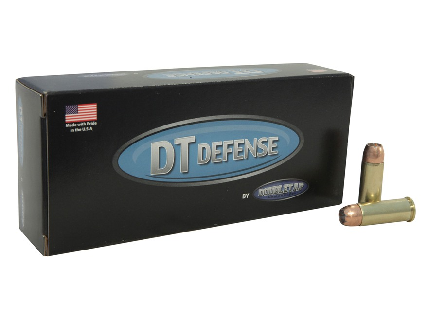Doubletap Ammunition 44 Special 200 Grain Bonded Defense Jacketed Hollow Point Box of 20