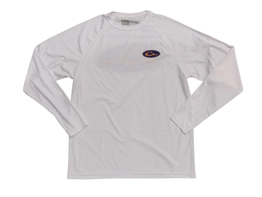 Drake Game Day Performance T-Shirt Long Sleeve Polyester