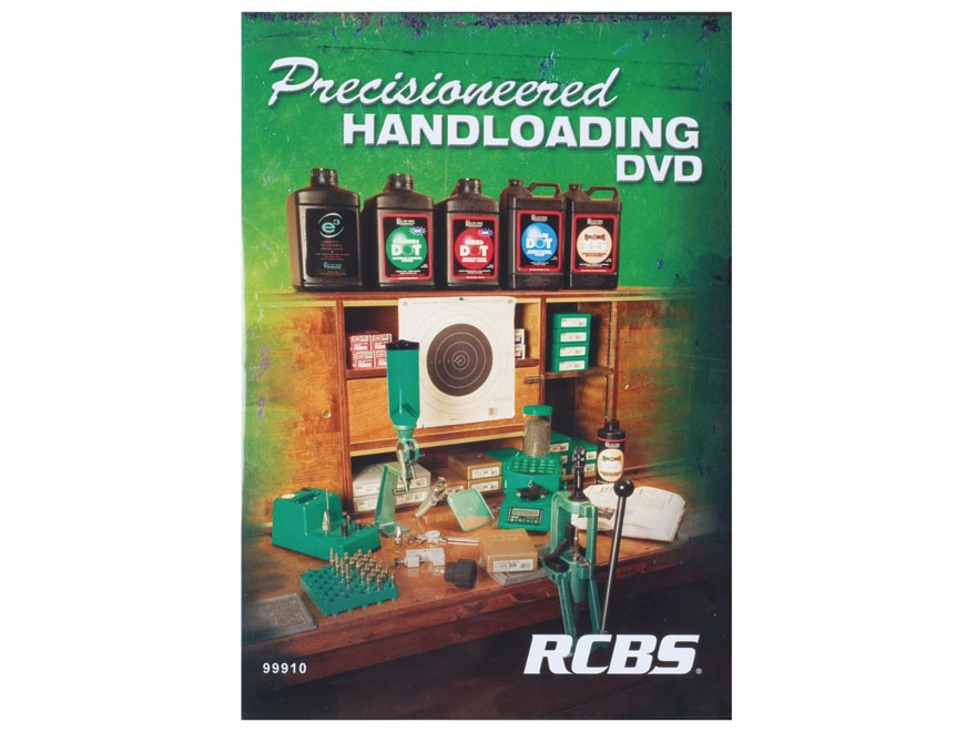 "RCBS Video ""Precisioneered Handloading"" DVD"
