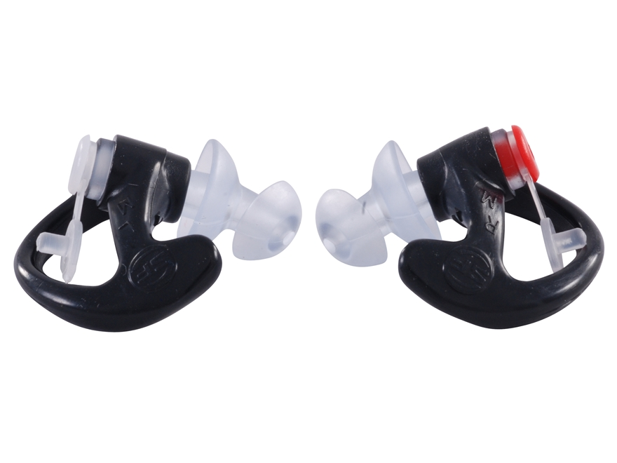 Surefire EP3 Sonic Defender Ear Plugs (NRR 24 dB) Gift with Purchase Medium Black