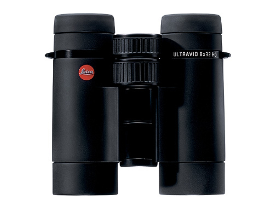 Leica Ultravid HD Binocular 8x 32mm Roof Prism Rubber Armored Black