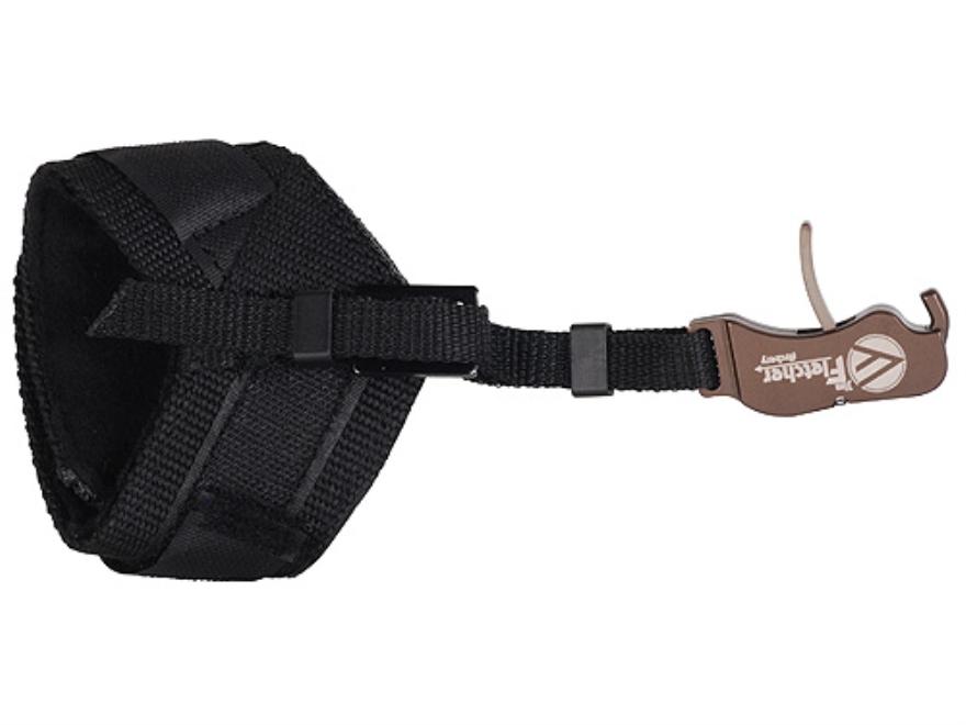 Jim Fletcher Insider Deluxe Bow Release Hook-&-Loop Fastener Wrist Strap Black