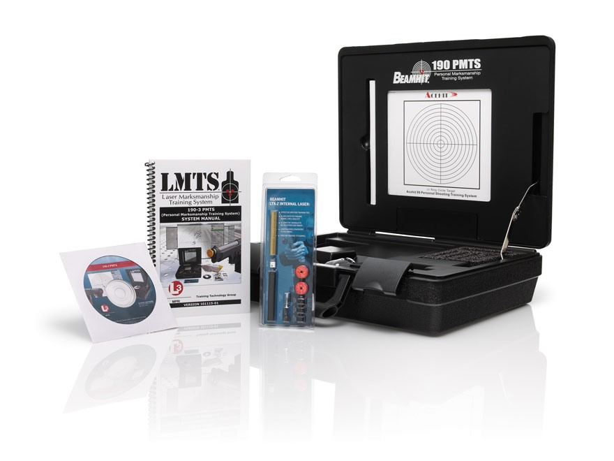 BeamHit 190-3 Personal Marksmanship Training System with LTX-Z Internal Laser