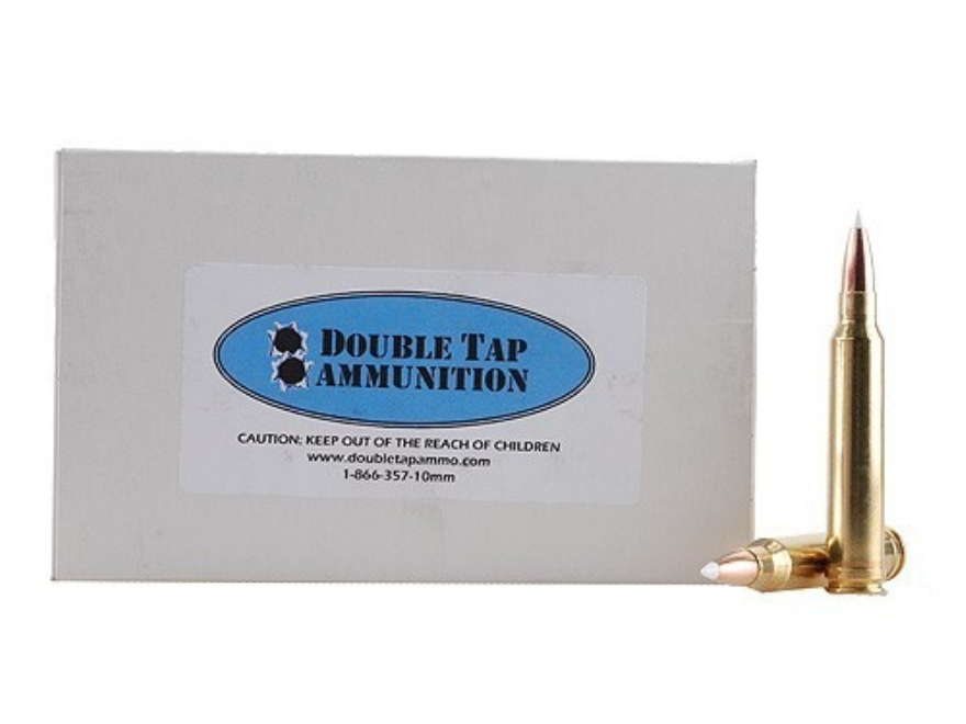 Doubletap Ammunition 300 Winchester Magnum 200 Grain Nosler AccuBond Spitzer Box of 20