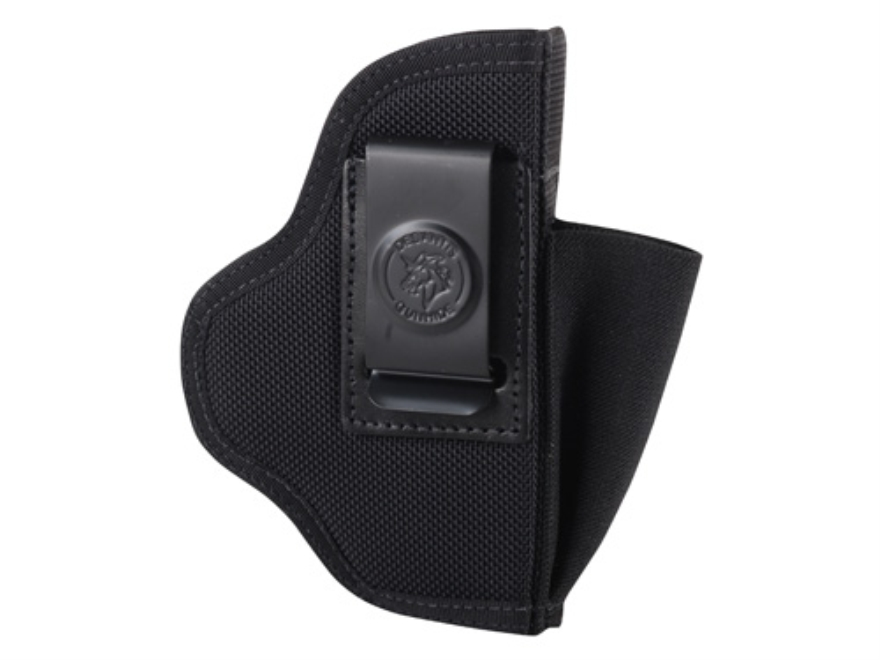 "DeSantis Pro Stealth Inside the Waistband Holster Ambidextrous Glock 26, 27, Springfield XDS 3.3"", S&W M&P Shield, S&W M&P22 Compact, Ruger SR9C Nylon Black"