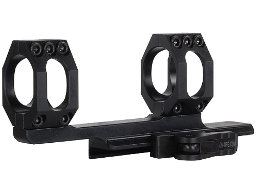 American Defense Scout Quick-Release Extended Scope Mount Picatinny-Style AR-15 Flat-Top Matte
