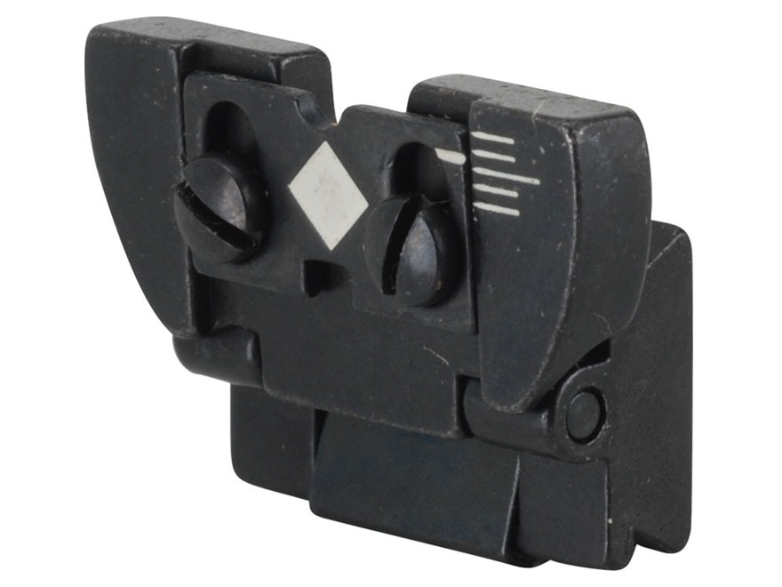 Ruger Rear Sight Complete Ruger 10/22 Magnum, 77 Mark II Standard, Sporter, International, Number 1 Light Sporter, Medium Sporter, Tropical, International, 96/44 Magnum