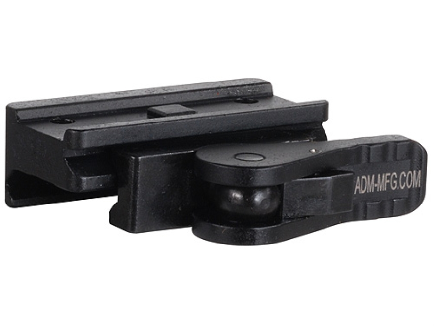 American Defense AD-T1-L Quick-Release Aimpoint Micro T-1, T-2, H-1 Sight Mount Picatinny-Style Matte