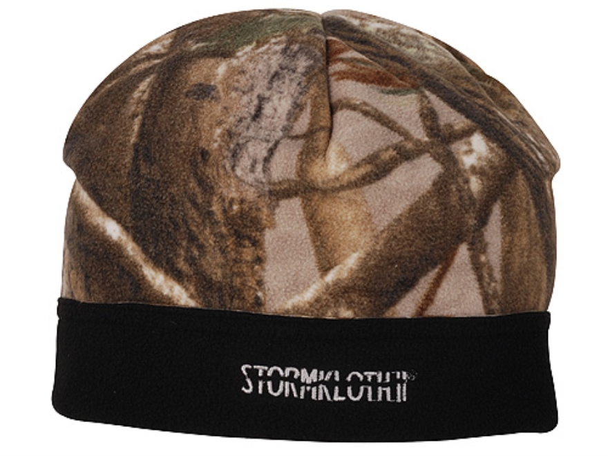 Stormkloth II Fleece Beanie Polyester Realtree AP Camo Small/Medium
