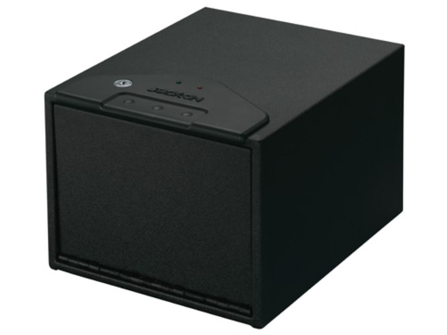 Stack-On Quick Access Safe with Electronic Lock Black