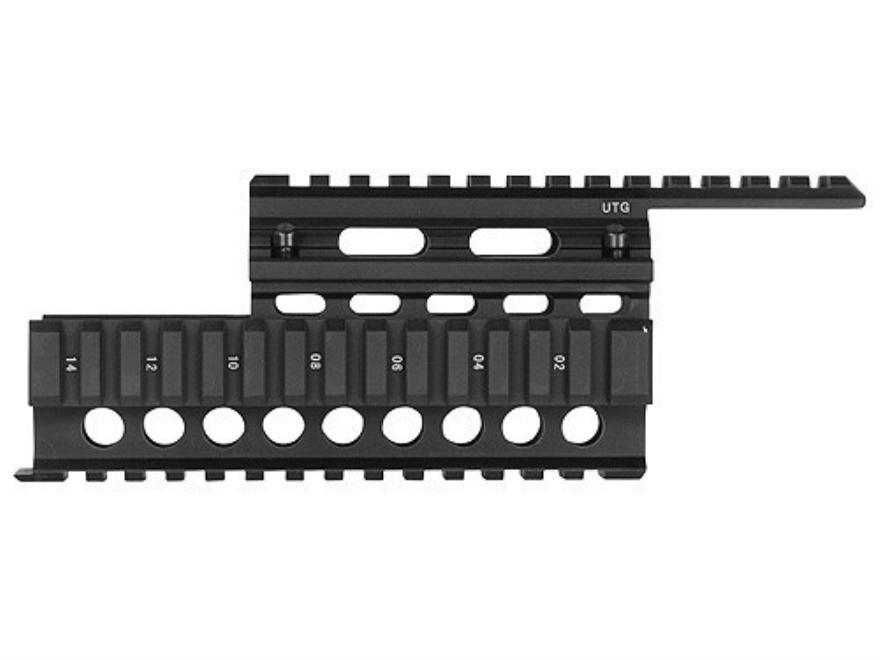 UTG Picatinny-Style Quad-Rail Mount Handguard Chinese/US AK-47 Matte