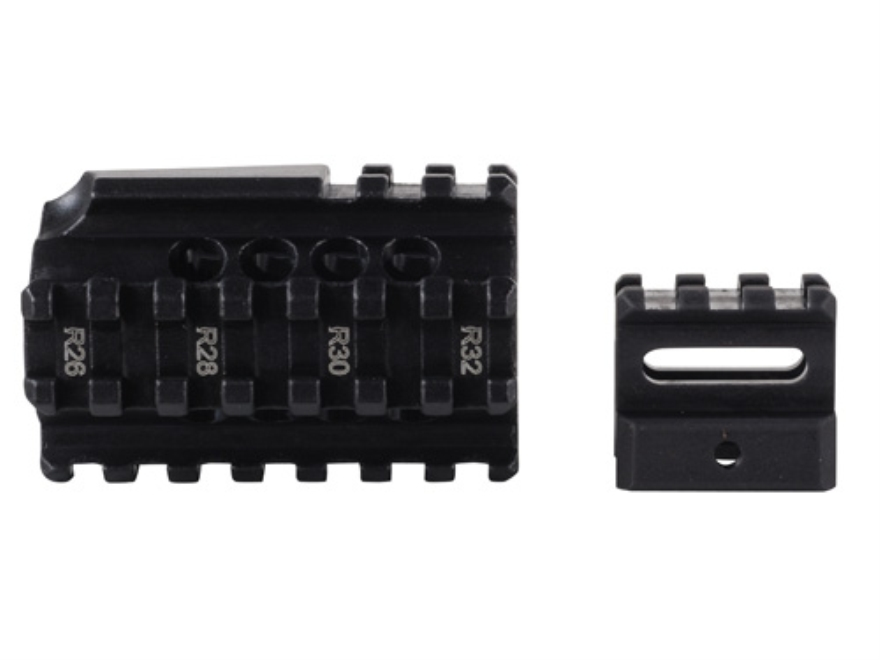 Kel-Tec Picatinny Quad Rail and Front Sight Riser Kit Kel-Tec RFB Aluminum Matte