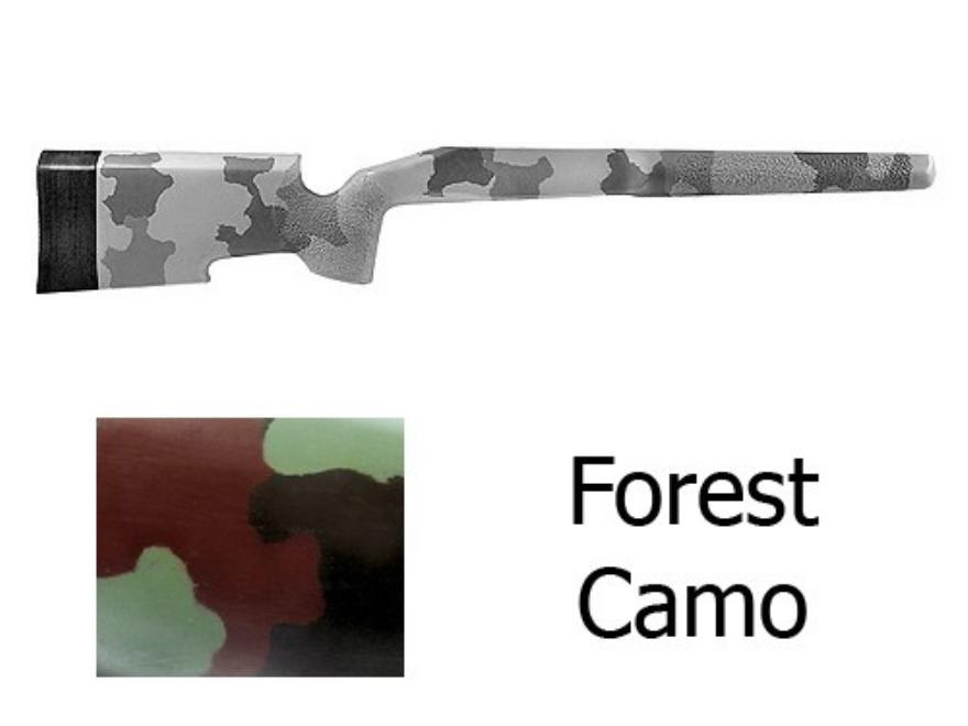 McMillan A-5 Rifle Stock Remington 700 BDL Short Action Varmint Barrel Channel Fibergla...