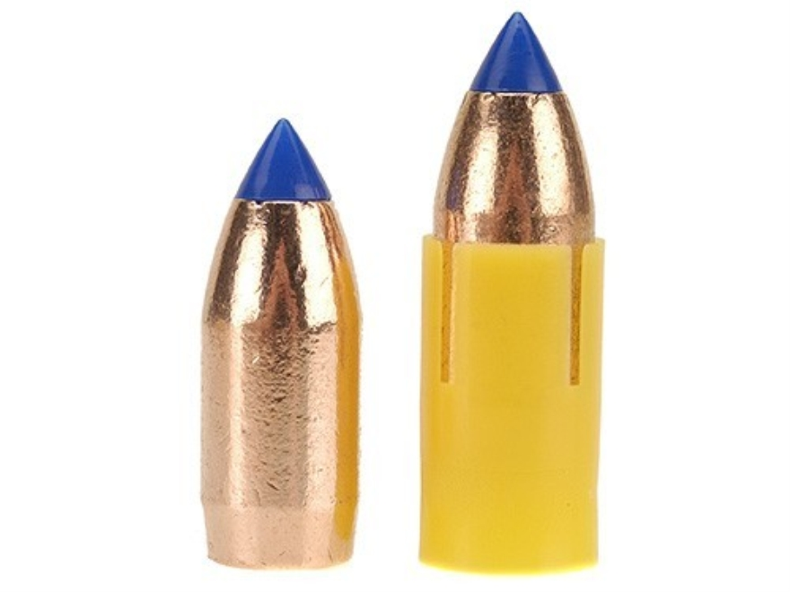 Barnes Spit-Fire TMZ Muzzleloading Bullets 50 Caliber Sabot with 45 Caliber 290 Grain Polymer Tip Boat Tail Lead-Free Box of 24