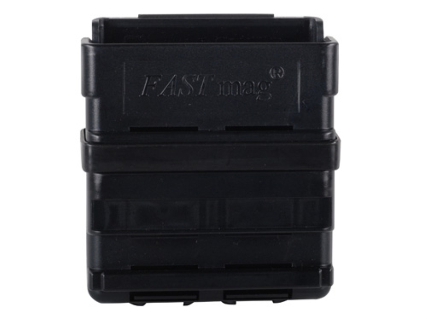 ITW FastMag Heavy Gen III Single Magazine Pouch 7.62x51 MOLLE/Duty Belt Compatible Polymer Black