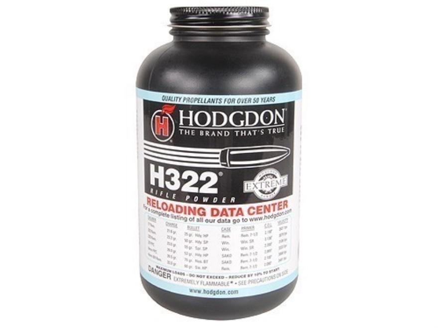 Hodgdon H322 Smokeless Powder