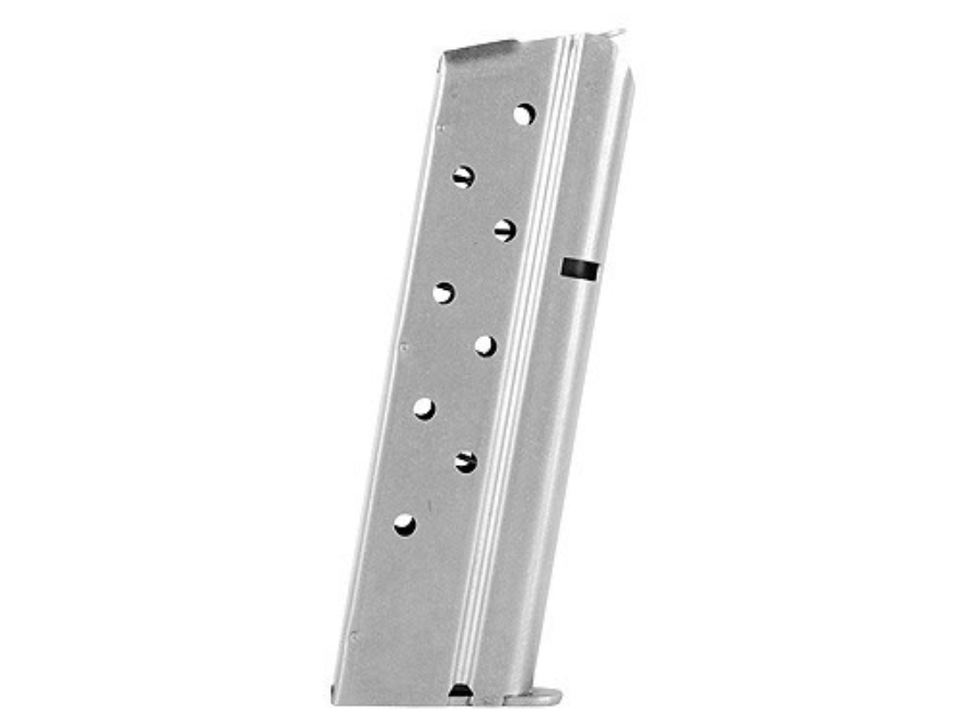 Colt Magazine 1911 Government, Commander 9mm Luger 9-Round Stainless Steel
