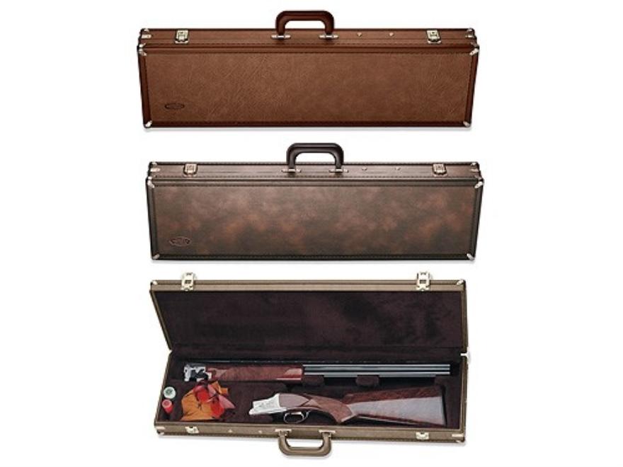 """Browning Takedown Shotgun and Extra Barrel Gun Case 32"""" Vinyl Brown"""