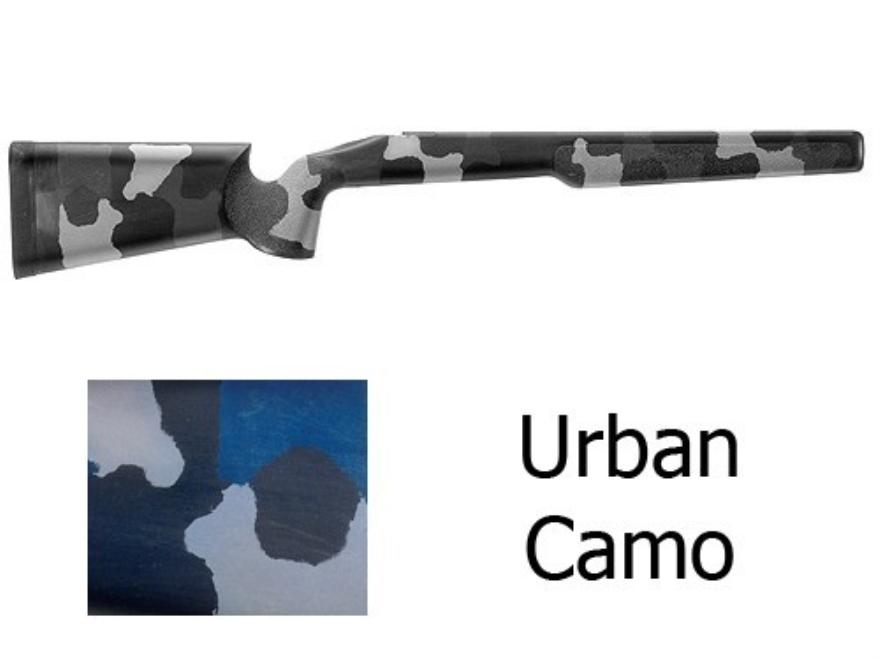 McMillan A-2 Rifle Stock Remington 700 BDL Short Action Varmint Barrel Channel Fibergla...
