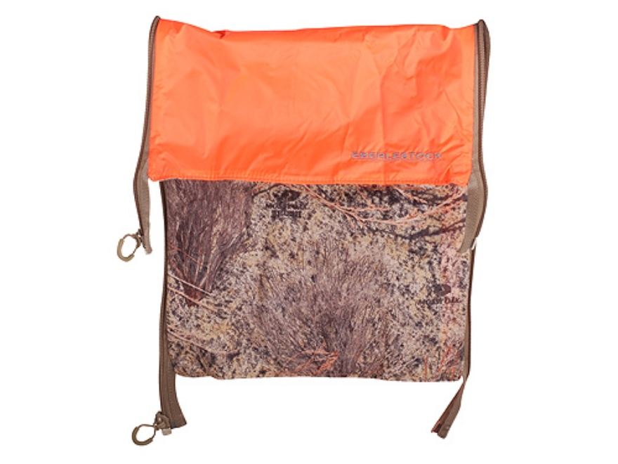 Eberlestock Reversible J-Series Zip-in Backpack Panel Nylon Mossy Oak Brush Camo and Blaze Orange