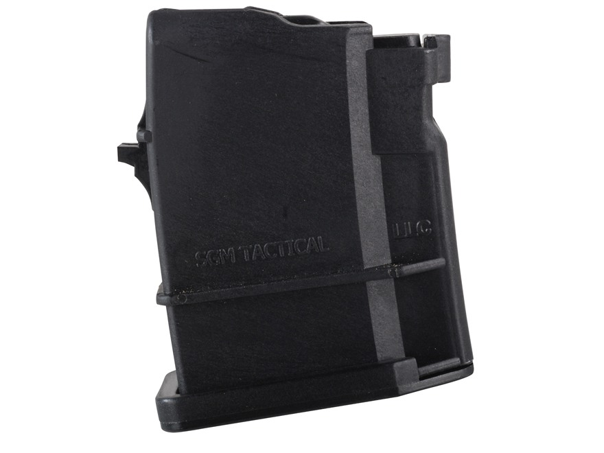 SGM Tactical Magazine Saiga 223 Remington Polymer Black