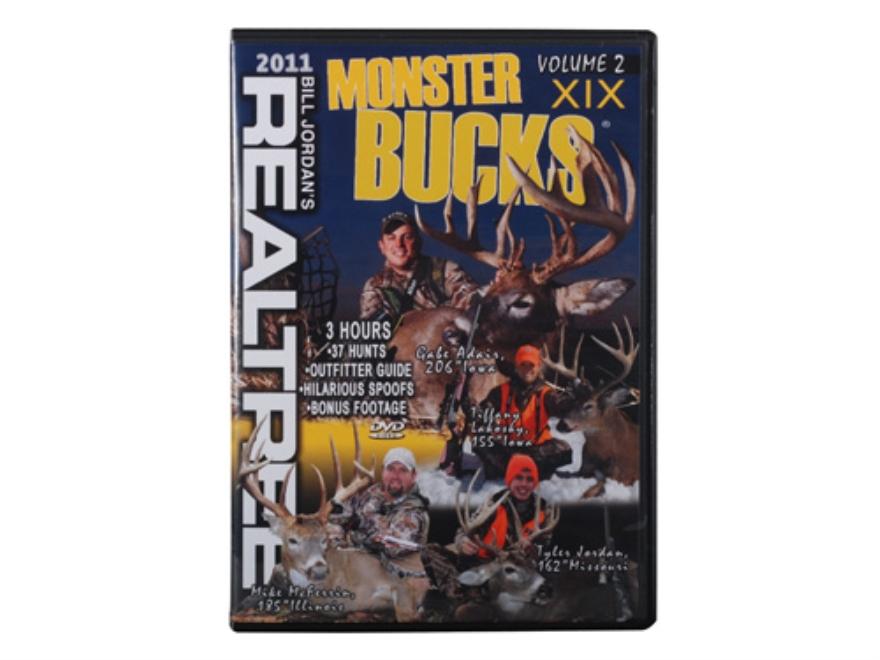 Realtree Monster Bucks 19 Volume 2 Video DVD