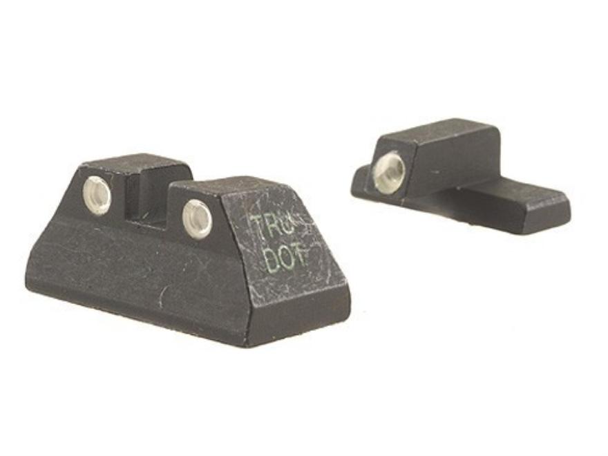 Meprolight Tru-Dot Sight Set HK USP Compact Steel Blue Tritium Green Front
