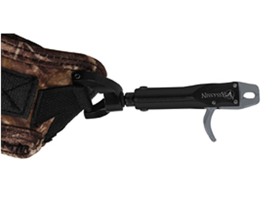 T.R.U. Ball Assassin Bow Release Hook-&-Loop Fastener Wrist Strap Camo