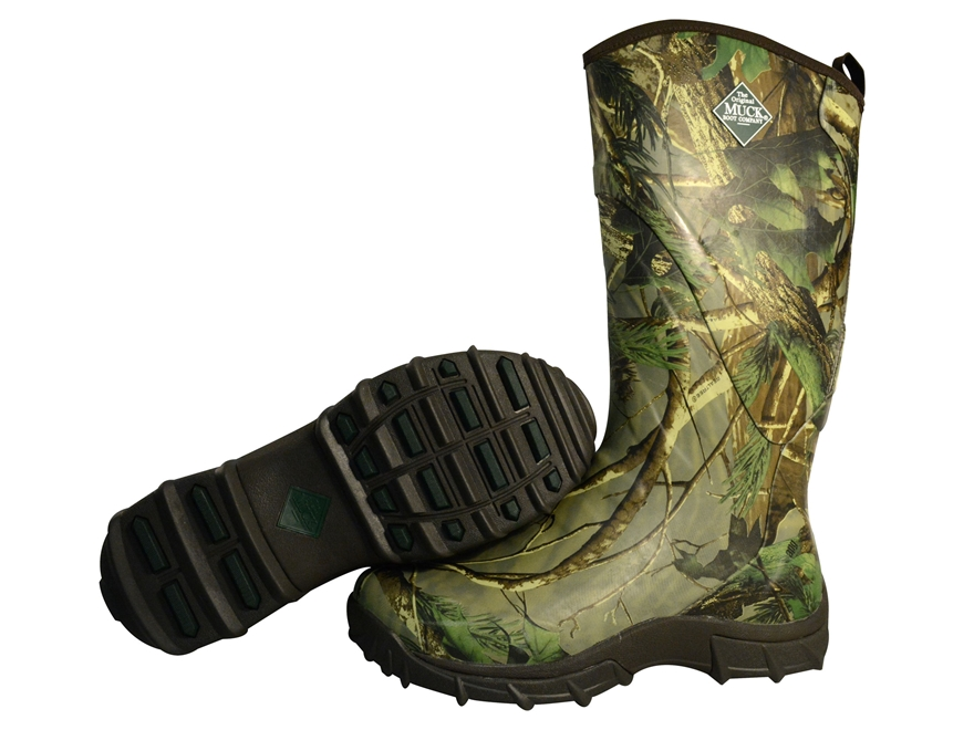 Muck Pursuit Snake 17 Uninsulated Hunting Boots Rubber