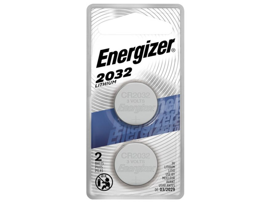 energizer battery cr2032 3 volt lithium pack of 2. Black Bedroom Furniture Sets. Home Design Ideas