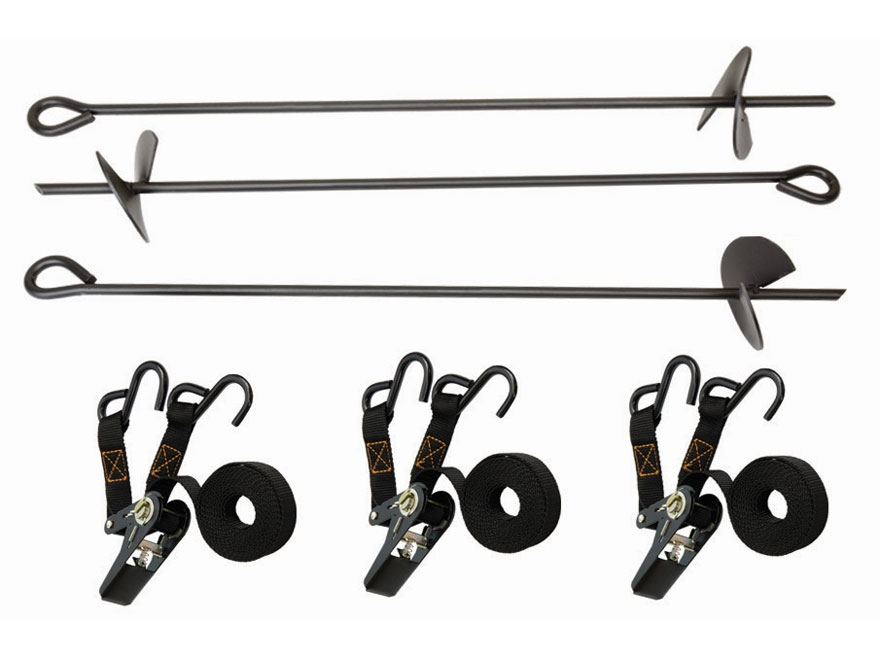 Big Game Auger-Style Tripod and Quadpod Anchor Kit