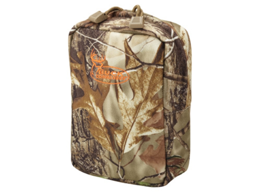 Buck Commander Small Binocular Pouch Polyester Realtree AP Camo