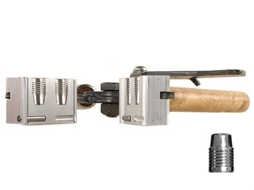 Lee 2-Cavity Bullet Mold TL410-210-SWC 41 Remington Magnum (410 Diameter) 210 Grain Tumble Lube Semi-Wadcutter