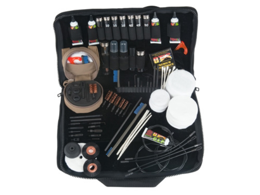Otis Military Mil-Spec Deluxe Elite Cleaning Kit Anti-Glare Black