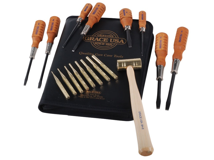 Grace USA 17-Piece Gun Care Tool Kit