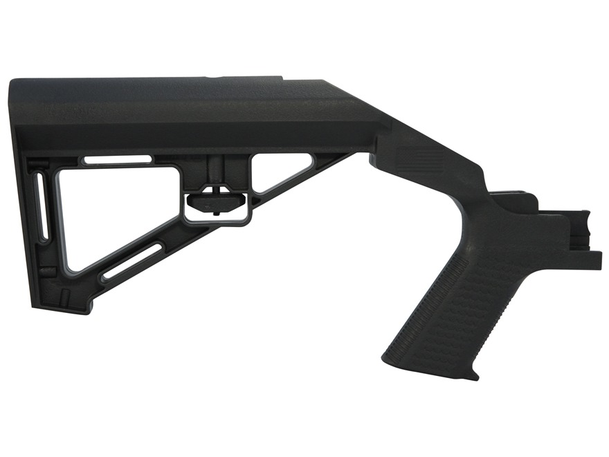 Slide Fire SSAR-15 SBS (Standard Battle Stock) Bump-Fire Stock AR-15 Mil-Spec Diameter Polymer Black