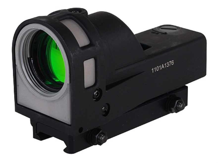 Meprolight M-21D4 Reflex Sight 1x 30mm 4.3 MOA Dot with Quick Release Picatinny-Style Mount Matte