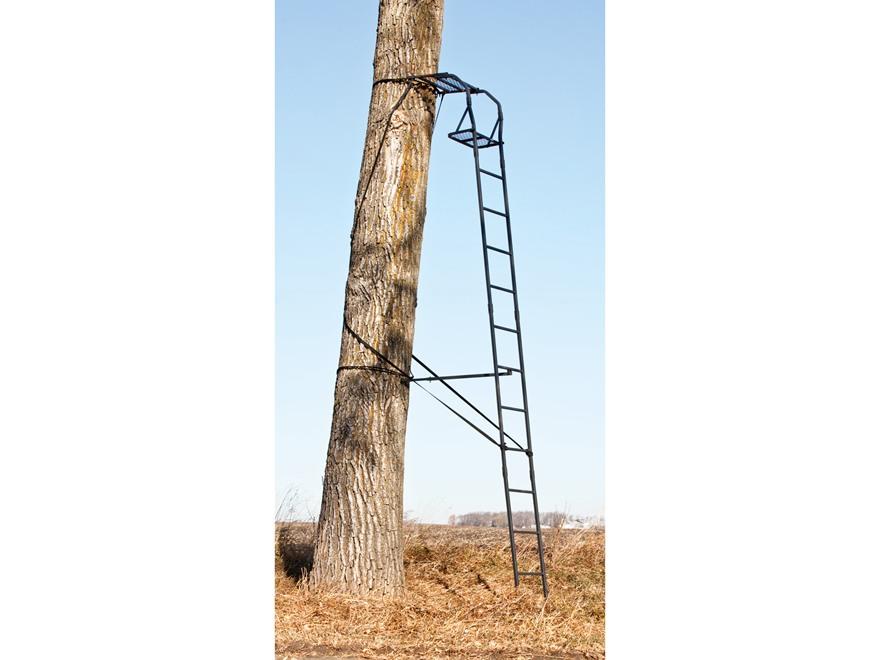 Big Game The Warrior Single Ladder Treestand Steel