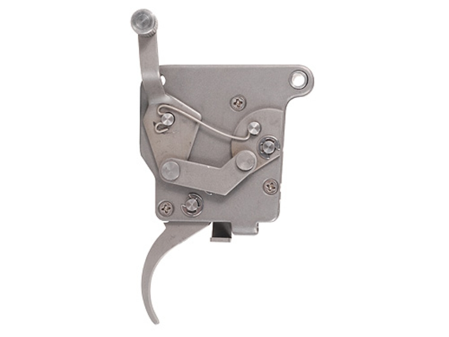 Jewell Rifle Trigger Remington Model 7, XR-100 with Safety 1-1/2 oz to 3 lb Stainless Steel