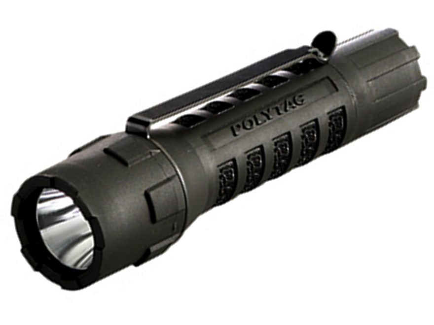 Streamlight Polytac Flashlight White LED with Batteries (2 CR123A Lithium) Polymer