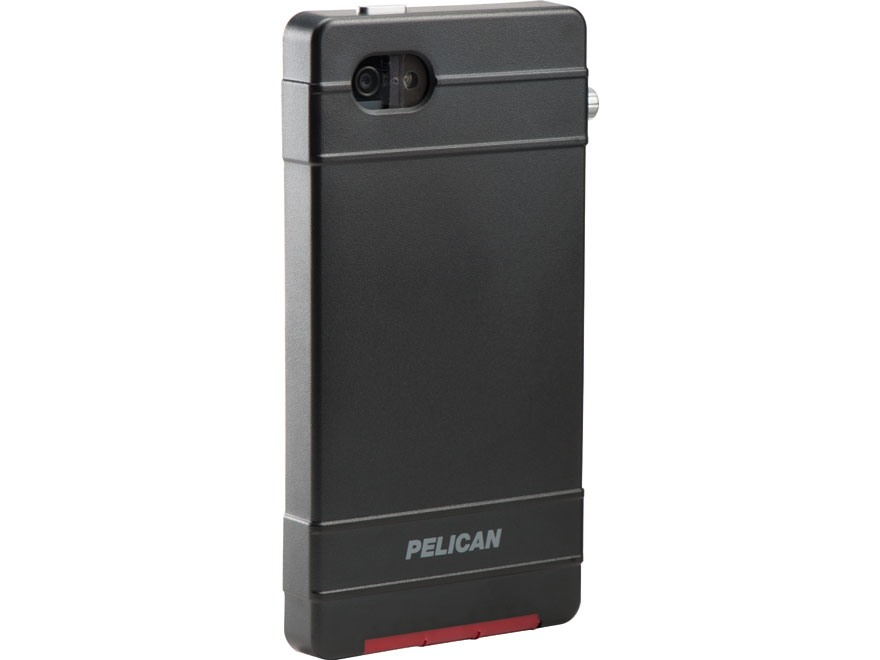 Pelican ProGear Vault iPhone 5 Case Aluminum Black/Red/Gray