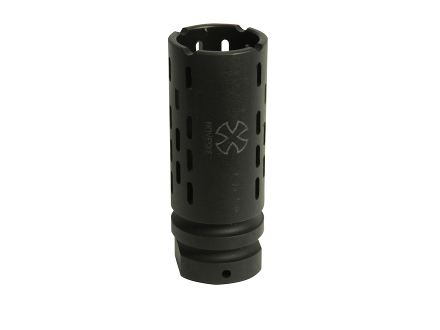 "BattleComp 1.5 Muzzle Brake 1/2""-28 Thread AR-15 Steel Parkerized"