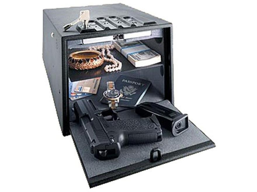"GunVault Deluxe MultiVault Personal Electronic Safe 10"" x 8"" x 14"" Black"