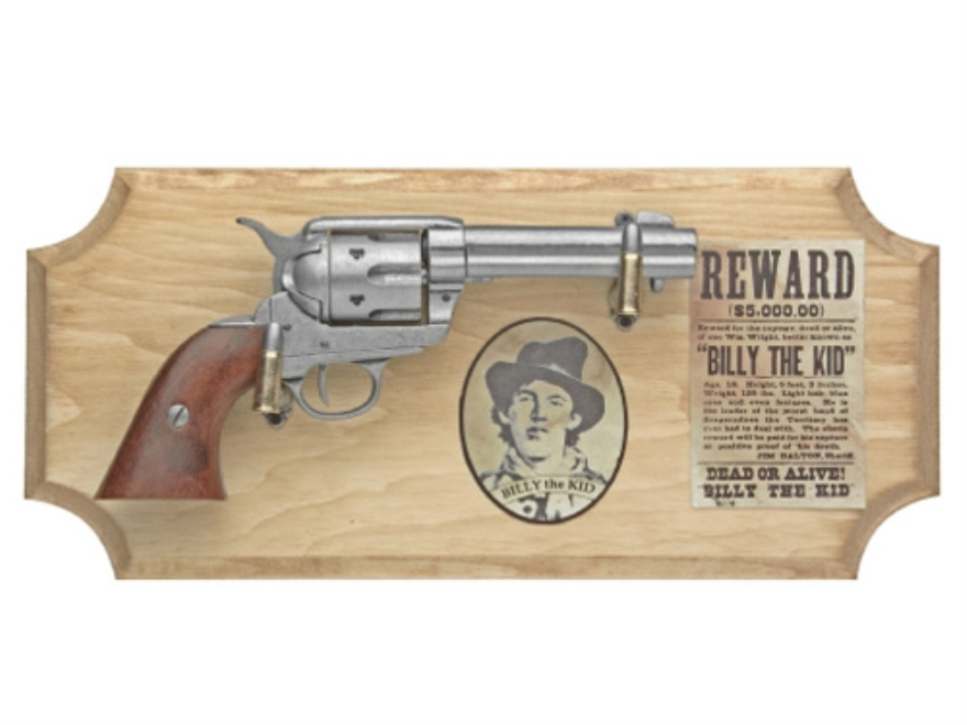 "Collector's Armoury Replica Civil War Billy ""The Kid"" Deluxe Non Firing Pistol and Frame Set"