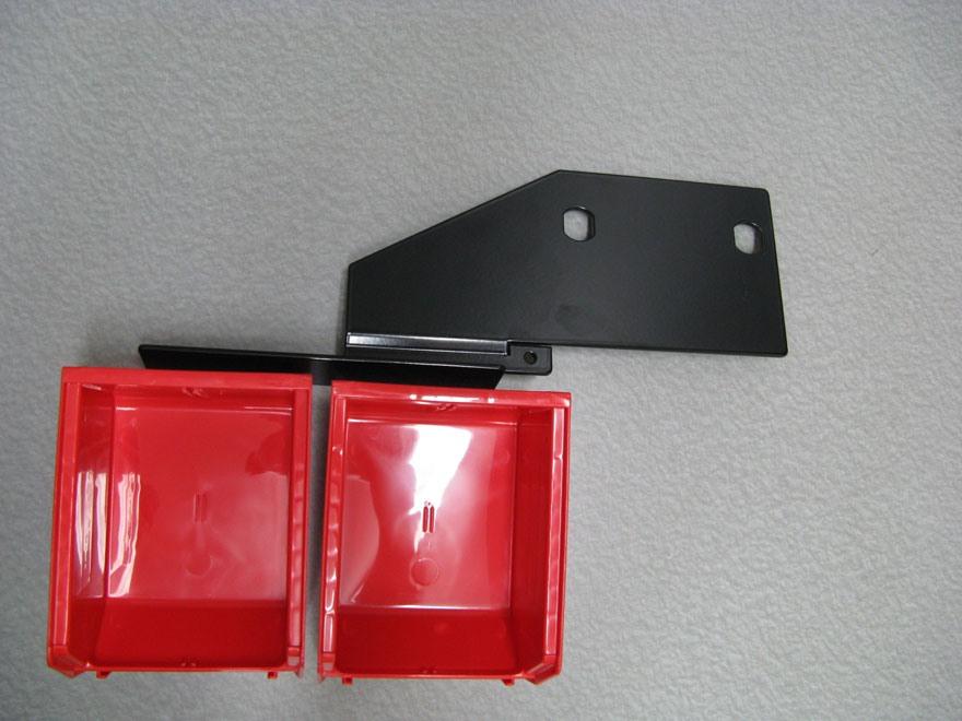 Inline Fabrication Improved Output Double Bin Bracket for Hornady Lock-N-Load AP