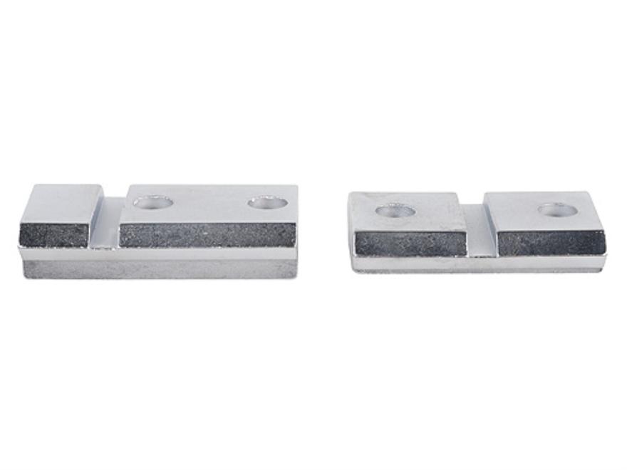 Millett 2-Piece Steel Angle-Loc Weaver-Style Scope Base Knight MK85 Silver